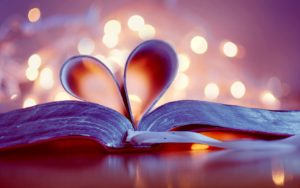 Books love purple