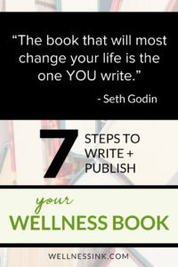 "The book that will most change your life is the one YOU write."" – Seth Godin. write nonfiction, writing motivation, writing inspiration, publish a book, share your story authority in your niche #WritetoHeal #wellnessbook #writeabook #bookcoach #author"